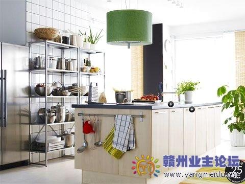 厨房效果图 厨房装修图片 厨房装修效果图 厨房设计效果图 开放式厨房