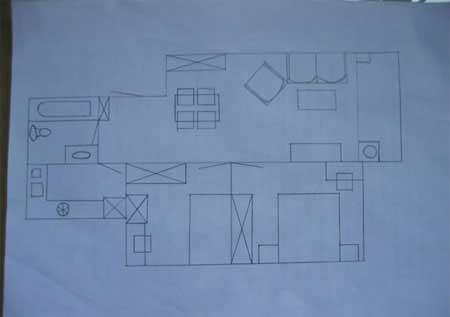 50平两室一厅装修效果图 50平两室一厅装修图片 晒50平两室一厅田园