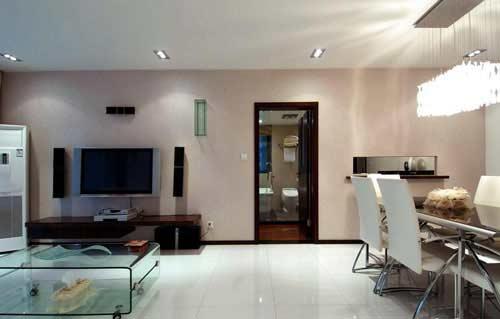 两室两厅装修效果图 两室两厅装修图片 108平2室2厅简约家 组图
